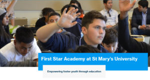 Picture of the First Star Academy website